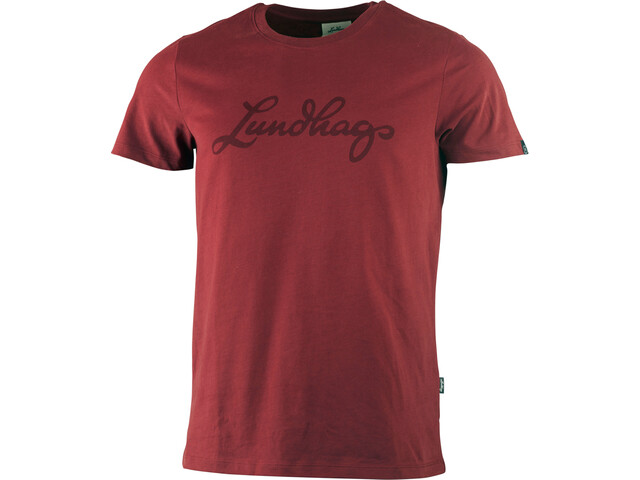 Lundhags M's Tee Dark Red